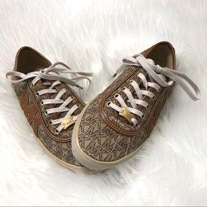 Michael Kors Sneakers-Light Brown & beige-GUC-Sz 7